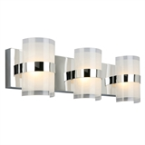 Haswell 3-Light LED Wall Light, Polished Chrome #577783