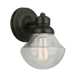 Sawyer One Light Wall Light, Oil Rubbed Bronze #577858