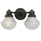Sawyer Two Light Wall Light, Oil Rubbed Bronze #577866