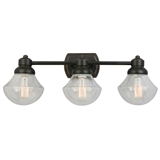 Sawyer Three Light Vanity Light, Oil Rubbed Bronze #577874