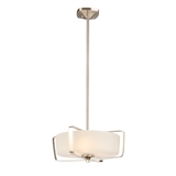 Perth 4-Light Pendant, Satin Nickel #578344