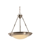 Brookings LED Pendant, Satin Nickel #578542