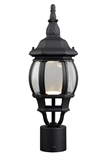 Canterbury II LED Outdoor Post Top Light, Black #578675
