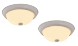 Hays 2-Pack LED Ceiling Lights, White #579177