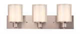 Penn 3-Light Vanity Light, Satin Nickel #579300