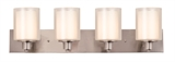 Penn 4-Light Vanity Light, Satin Nickel #579318