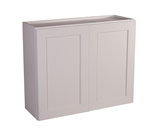 "Brookings 36"" Fully Assembled Kitchen Wall Cabinet, White Shaker #613414"