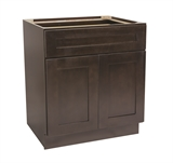 "Brookings 33"" Fully Assembled Kitchen Base Cabinet, Espresso Shaker #613679"