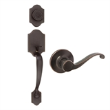 Sussex Handleset Scroll, Oil Rubbed Bronze #753806