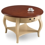 Coffee table Ivory finish #10034-IV