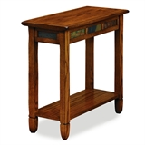 Rustic Slate End Table #10060