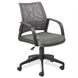 Grey Mesh Back Office Chair #10066GR