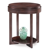 Oval End Table #10107-CH