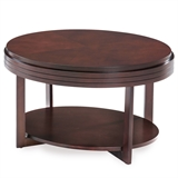Oval Condo/Apartment Coffee Table #10109-CH