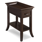 Traditional Cherry Tray Edge End table #10126