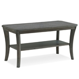 Rustic Wire Brushed Driftwood Condo/Apartment Coffee Table #10303-RG