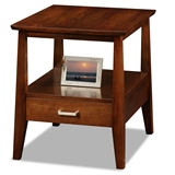 Delton Drawer End Table #10407