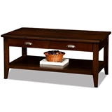 Laurent Two Drawer Coffee Table #10504
