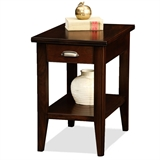 Laurent Narrow Drawer End Table #10506