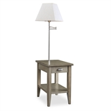 Laurent Chair Side Lamp Table #10537-GR