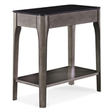 Obsidian Gray Narrow End Table #11105-GR