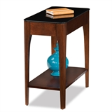 Obsidian Narrow End Table #11105