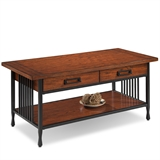 Ironcraft Two Drawer Coffee Table #11204