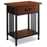 Ironcraft Night Stand w/Drawer #11222