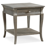 Luna Drawer End Table #11607-GW