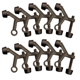 2-1/8 in. x 1-3/4 in. Oil Rubbed Bronze Standard Hinge Pin Door Stop Value Pack (10 per Pack) #181800