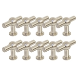 Capstan Knob, 10-Pack, Brushed Nickel # 182410