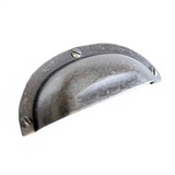 Cask Cabinet Pull, Antique Pewter #205591