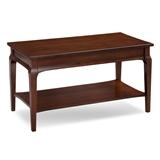 Status Condo/Apartment Coffee Table with Display Shelf #22003