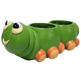 "6.5"" Caterpillar Planter, #310284"