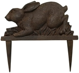 "9.6"" Bunny Edging, Cast Iron Finish #317750"