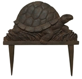 "9.9"" Turtle Edging, Cast Iron Finish #317768"