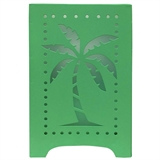 "10"" Solar Metal Palm Tree Lantern #321430"
