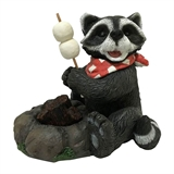 "11"" Solar Raccoon Roasting Marshmallows #325506"