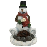 "10"" Snowman Roasting Marshmallows #329599"