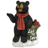 "10"" Let It Snow Bear #329722"