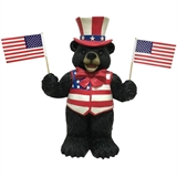 "19"" Solar Uncle Same Bear #330316"