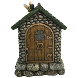 "6"" Solar Gnome Door With Bee #330464"