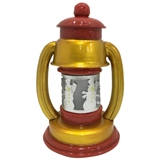 "10"" Lantern With Cut Out Snowman #330530"