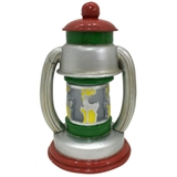 "10"" Lantern With Cut Out Deer #330555"