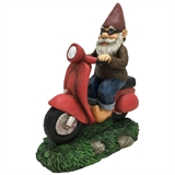 "12"" Solar Gnome Riding Scooter #330928"