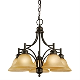 Bristol 5-Light Chandelier, Oil Rubbed Bronze #504167
