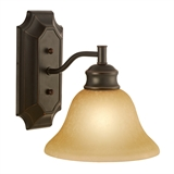 Bristol 1-Light Wall Light, Oil Rubbed Bronze #504415