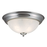Millbridge 2-Light Ceiling Light, Satin Nickel #511550