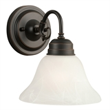Millbridge 1-Light Wall Sconce, Oil Rubbed Bronze #514497