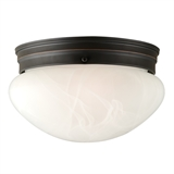 Millbridge 2-Light Ceiling Light, Oil Rubbed Bronze #514539